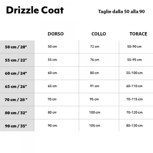 GIACCA HURTTA DRIZZLE COAT 80-90 CM