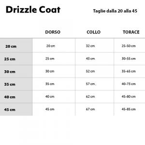 GIACCA HURTTA DRIZZLE COAT 60-65-70CM