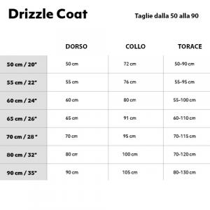 GIACCA HURTTA DRIZZLE COAT 20-25-30-35 CM