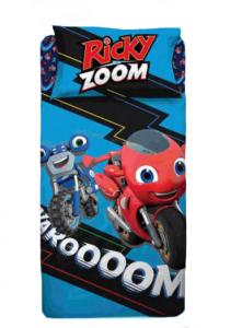 Copripiumino Ricky Zoom 1 piazza  100% cotone