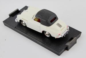 Porsche 356 Speedster Cabriolet Chiusa 1952 White 1/43 100% Made In Italy