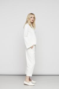 Pantalone bianco European Culture