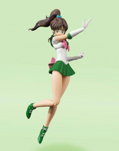 Sailor Moon S.H. Figuarts Action Figure: SAILOR JUPITER - ANIMATION COLOR EDITION by Bandai