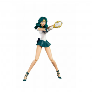 *PREORDER* Sailor Moon S.H. Figuarts Action Figure: SAILOR NEPTUNE - ANIMATION COLOR EDITION by Bandai