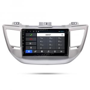 ANDROID 10 autoradio navigatore per Hyundai Tucson 3 2015-2018 GPS USB WI-FI Car Play Bluetooth Mirrorlink 4G LTE