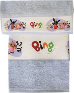 Asciugamano Bing 1+1 in puro cotone