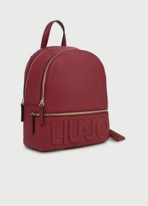 M Backpack ciliegia logo LIU JO