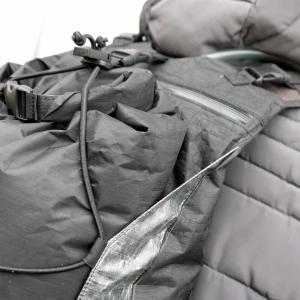 Dyneema - Zaino con sacca idrica da 3 litri per bikepacking o trail running waterproof e ultralight