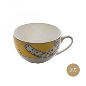 Set caffè 4 pezzi in Giftbox | Carte da Zogo