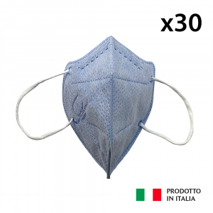 30 MASCHERINE PROTETTIVE FFP2 DPI III CATEGORIA