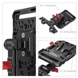 Piastra per batteria V Mount con braccio regolabile 2991