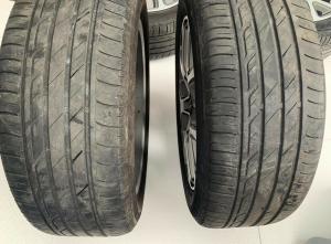 Cerchi In Lega Con Gomme 215/55/R17 FIAT 500X Anno 2019 Originale