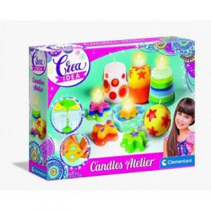 Atelier candele Crea idea Clementoni dai 8 anni