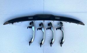 Kit Maniglie + Maniglione Cromate satinata Fiat 500X Anno 2019 Originale