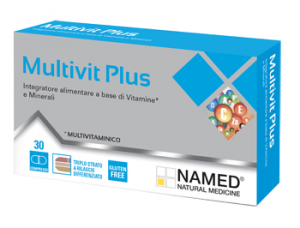 NAMED MULTIVIT PLUS - INTEGRATORE A BASE DI VITAMINE E MINERALI