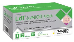 LD1 JUNIOR MONODOSE - INTEGRATORE A BASE DI FERMENTI LISATI PER LA FLORA INTESTINALE