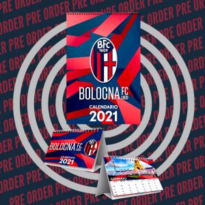 PRE ORDER CONFEZIONE CALENDARI 2021 Bologna Fc