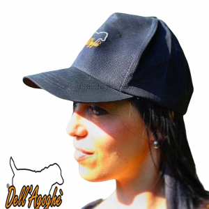 Cappellino baseball black con visiera dell'agoghè