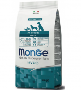Monge - Natural Superpremium - All Breeds - Hypoallergenic - 2.5 kg