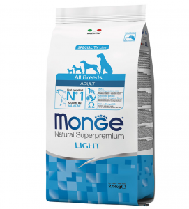 Monge - Natural Superpremium - All Breeds - Light - 2.5 kg