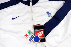 1996-98 Italia Giacca Tuta XL *Nuova