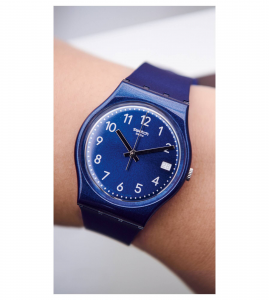Orologio Silver in Blue - Sole - small