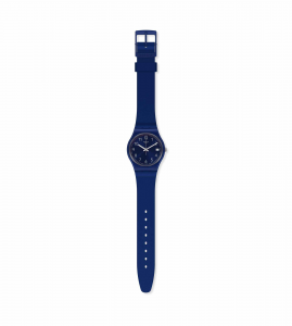 Orologio Silver in Blue - Main view