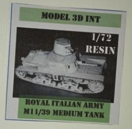 M11/39 MEDIUM TANK
