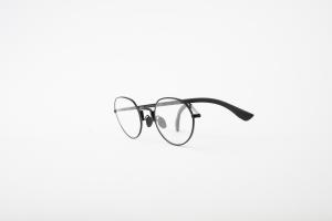 Movitra Spectacles,tytus tondo black 100%titanium