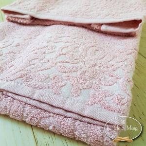 Asciugamani Arabesque Rosa