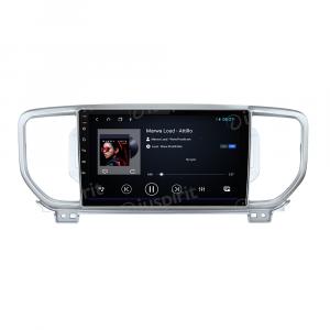 ANDROID 10 autoradio navigatore per Kia Sportage 2016-2018 GPS USB WI-FI Car Play Bluetooth Mirrorlink 4G LTE