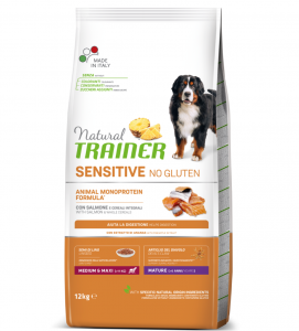 Trainer Natural Sensitive - Medium/Maxi - Mature - 12 kg