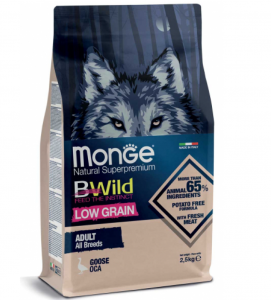 Monge - BWild Low Grain - All Breeds Adult 12 kg x 2 sacchi