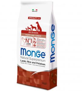 Monge - Natural Superpremium - All Breeds Puppy&Junior - 12 kg x 2 sacchi