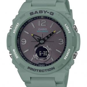 Casio BABY-G multifunzione, Protection verde avio