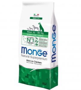 Monge - Natural Superpremium - Maxi Puppy&Junior - 12 kg x 2 sacchi