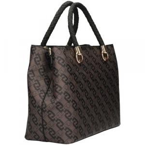 Shopper L Satchel Khaki brown LIU JO