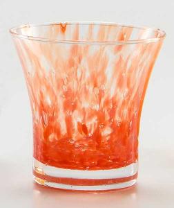 Wasser Glas Padova Korn Rot (6stck)