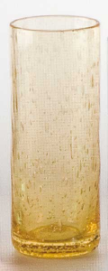 Bicchiere bibita giallo bolloso (6pz)
