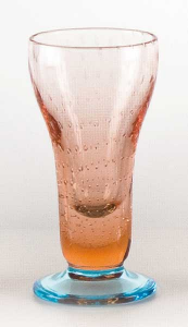 Eis Gläser Pink Hellblau (6stck)