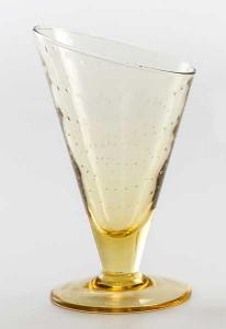 Eis Gläser Gelb (6stck)