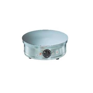 Ceramic Crepe maker Vesuvio in cast iron  W 2000 dimension mm Ø 350x135 h.