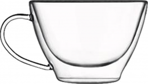 Duos Double wall glass multiuse cup (6pcs)