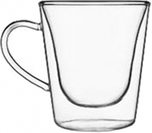 Duos Double wall glass espresso cup (6pcs)