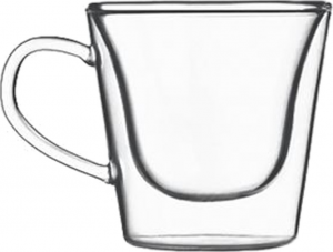Duos Double wall glass cup (6pcs)