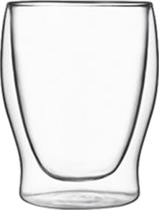 Duos Double wall glass water glass (6pcs)