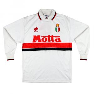 1993-94 Ac Milan Maglia Away  Papin #9 (Top)