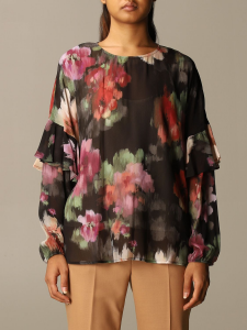 SHOPPING ON LINE TWINSET MILANO blusa fantasia  NEW COLLECTION WOMEN'S FALL WINTER 2020/2021