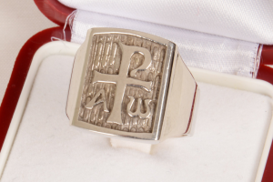 Anello PIEMONOG in argento