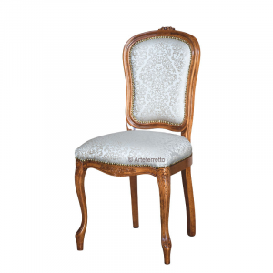 Carved dining chair, classic style